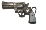 MAGNUM REVOLVER Belt Buckle + display stand